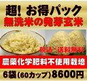 【新米】無農薬の発芽玄米白米モード楽々炊飯!圧倒的に美味しい無農薬の玄氣1.5kg×6袋(9kg真空パック)【無農薬 玄…