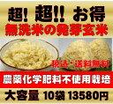 【新米!29年産】無農薬 玄米 発芽玄米白米モード楽々炊飯!圧倒的に美味しい無農薬の玄氣1.5kg×10袋(15kg真空パッ…