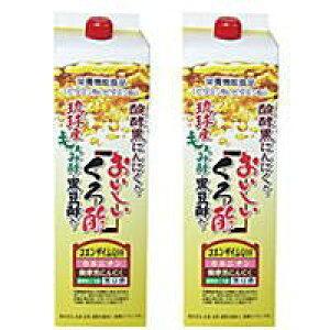 おいしいくろ酢 フジスコ1,800ml2本セット