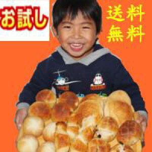 ふくらむ魔法の冷凍パン5種類 20個入り 送料無料 代引不可 おためし 冷凍パン生地 解凍・発酵不要 冷凍のまま約15分で焼きあがります バターボールプレーン、くるみ、レーズン