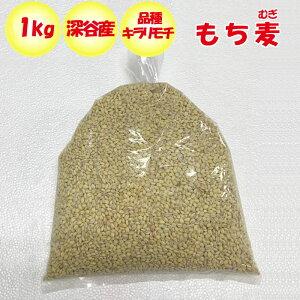 埼玉県深谷市産 もち麦(キラリモチ) 1kg 送料別