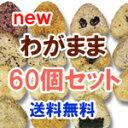 送料無料冷凍 玄米 おにぎり  玄むす わがまま 60個セット [ 手作りの 玄米おむすび です]10P08Feb15