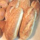 【卵・牛乳・バター・ショートニング・マーガリン不使用・トランス脂肪酸フリー の無添加玄米パン】胚芽玄米パン バケット(プレーン)