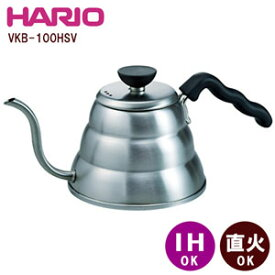 HARIO(ハリオ) V60ドリップケトル・ヴォーノVKB-100HSV600ml/1000ml【HARIO/コーヒー/珈琲/ドリップ/】【メール便不可】