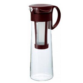 HARIO(ハリオ)水出し珈琲(コーヒー)ポット ショコラブラウン 1,000ml/8杯用 MCPN-14CBR【アイスコーヒー/ボトル】