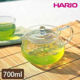 HARIO(ハリオ)茶茶急須 丸 700ml CHJMN-70T【おしゃれ/ガラス急須/日本製】