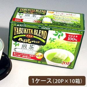 【送料無料】やぶ北ブレンド 煎茶メッシュフィルターティーバッグ 20P1ケース(10入り)【お茶/国産/緑茶/日本茶】【メール便不可】