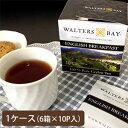 【まとめ買いで5%OFF!】WALTERS BAY(ウォルターズベイ) 紅茶 イングリッシュブレックファースト ティーバッグ 10P 6箱セット【お茶/紅茶/ティーバッグ】【メール便不可】