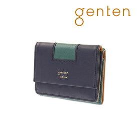 【ゲンテン公式】【新作】 genten ゲンテン 財布 折り財布 エティコ 三つ折り財布 42933