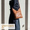 【ゲンテン公式】★新作★genten ゲンテン バッグ ショルダーバッグサスティナブルカットワーク ショルダーバッグ 42…
