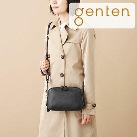 【ゲンテン公式】genten ゲンテン バッグ トラディショナル ショルダーバッグトスカ BOX型ミニショルダーバッグ 40363