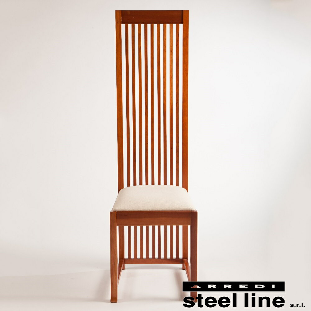 《100%MADE IN ITALY》フランク・ロイド・ライト ロビーチェア (ROBIE Chair)スティールライン社DESIGN900