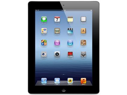 【中古】【安心保証】 SoftBank iPad3[セルラー16GB] ブラック