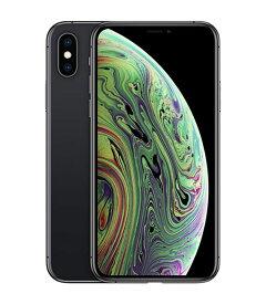 【中古】【安心保証】 au iPhoneXS[256G] スペースグレイ SIMロック解除済