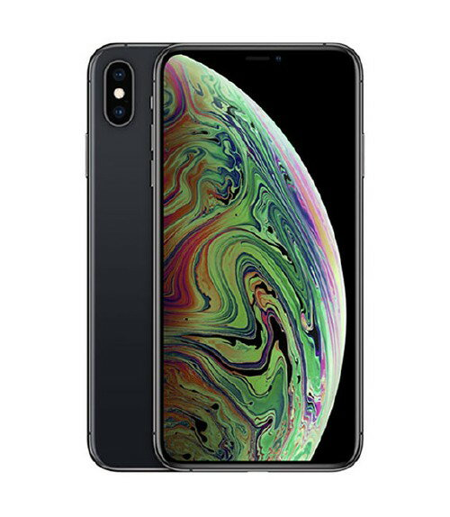 【中古】【安心保証】 au iPhoneXS Max[256GB] グレイ