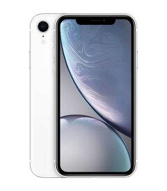 【中古】【安心保証】 docomo iPhoneXR[256G] ホワイト SIMロック解除済