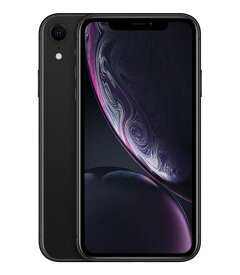 【中古】【安心保証】SoftBank iPhoneXR[64G] ブラック
