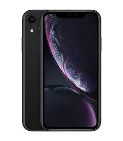 【中古】【安心保証】 docomo iPhoneXR[256G] ブラック SIMロック解除済