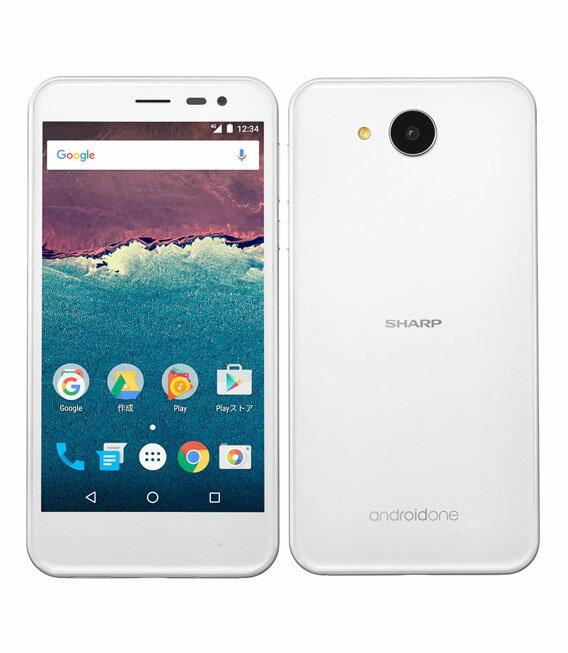 【中古】【安心保証】 Y!mobile AndroidOne_507SH ホワイト
