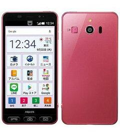 【中古】【安心保証】 SoftBank シンプルスマホ3 509SH ピンク