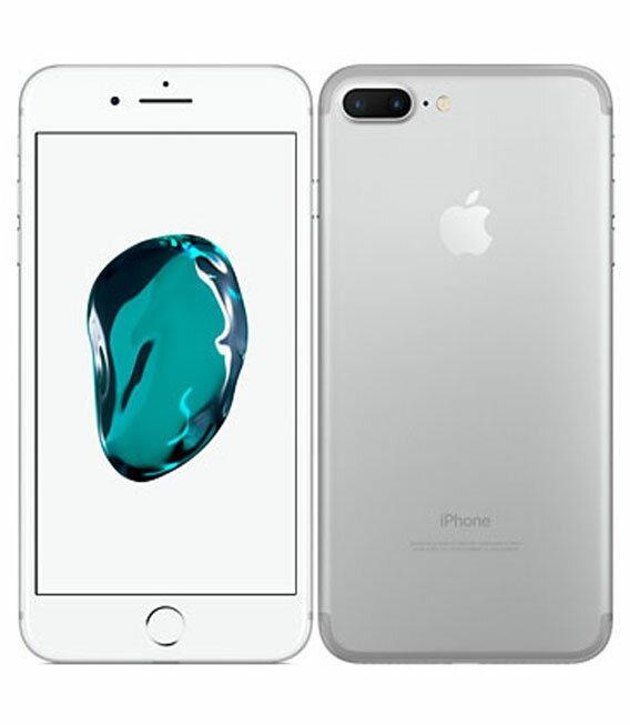 【中古】【安心保証】 docomo iPhone7Plus 32GB シルバー
