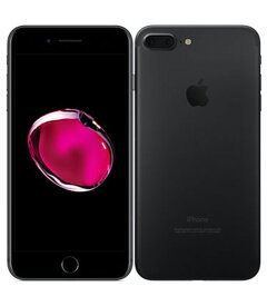 【中古】【安心保証】 SoftBank iPhone7Plus[128G] ブラック