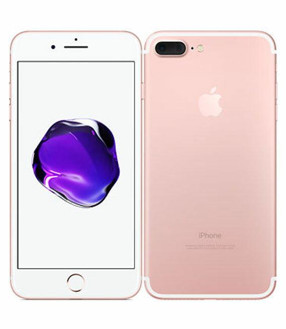 【中古】【安心保証】 SoftBank iPhone7Plus 128GB ローズゴールド