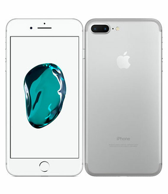 【中古】【安心保証】 SoftBank iPhone7Plus 256GB シルバー