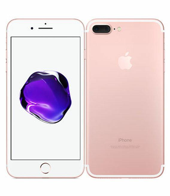 【中古】【安心保証】 SoftBank iPhone7Plus 256GB ローズゴールド