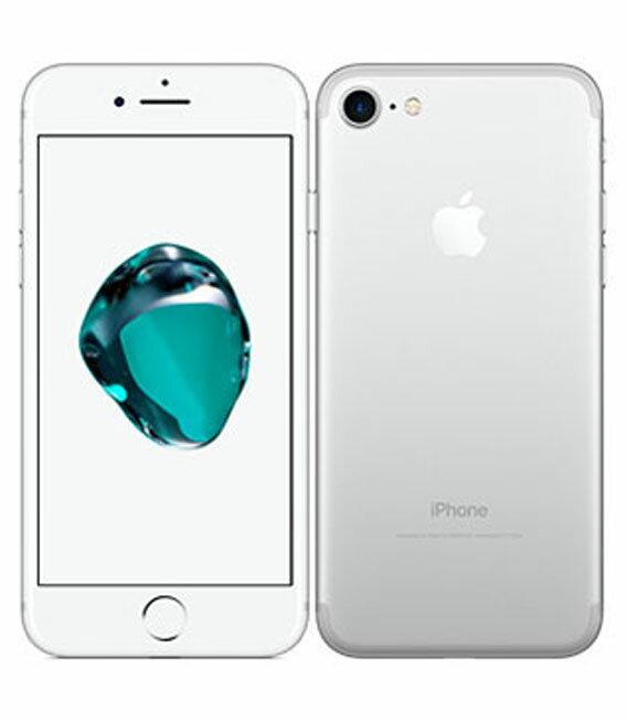 【中古】【安心保証】 SoftBank iPhone7 256GB シルバー