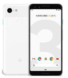 【中古】【安心保証】 SoftBank Pixel 3[128G] クリアリーホワイト