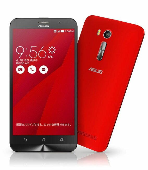 【中古】【安心保証】 SIMフリー ZenFoneGo[16G] レッド