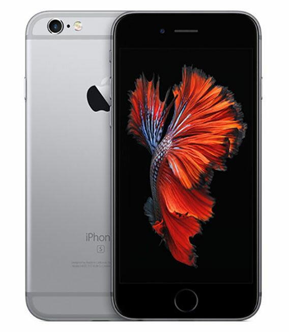 【中古】【安心保証】SoftBank iPhone6s 32GB スペースグレイ