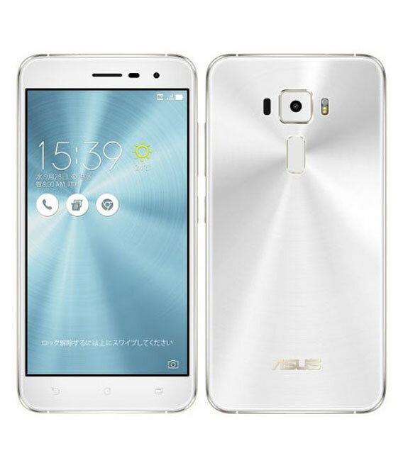 【中古】【安心保証】 SIMフリー ZenFone3[32G] シロ