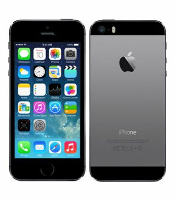 【中古】【安心保証】 docomo iPhone5s[64GB-d] スペースグレイ