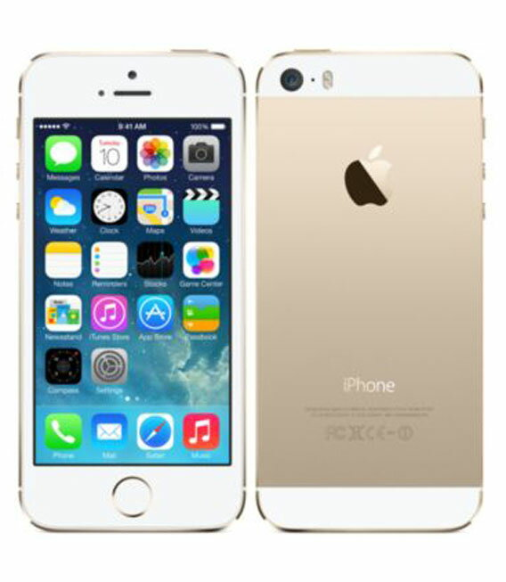 【中古】【安心保証】 SoftBank iPhone5s[32GB] ゴールド