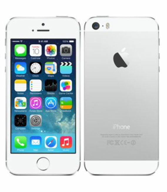 【中古】【安心保証】 SoftBank iPhone5s[64GB-s] シルバー