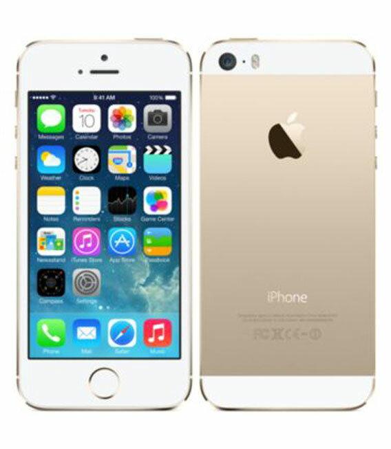 【中古】【安心保証】 SoftBank iPhone5s[64GB-s] ゴールド