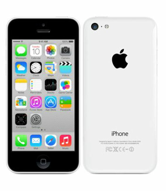 【中古】【安心保証】 SoftBank iPhone5c[16GB-s] ホワイト