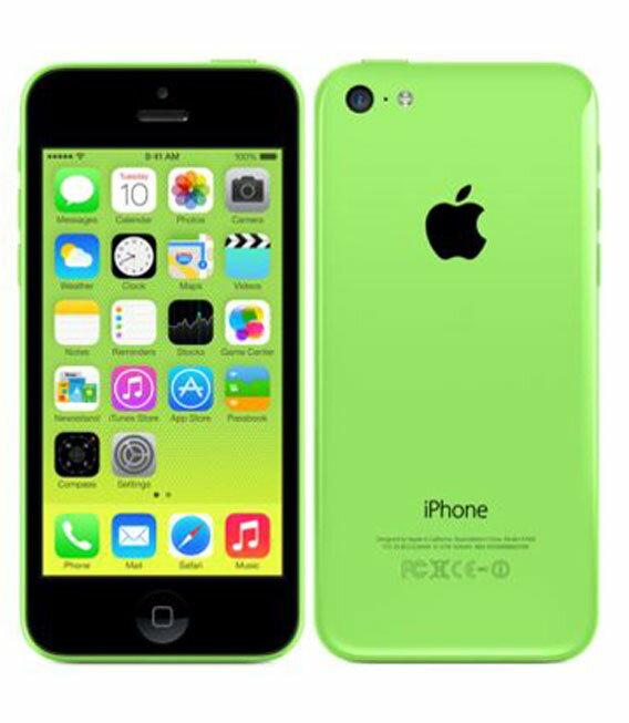 【中古】【安心保証】 SoftBank iPhone5c[16GB-s] グリーン