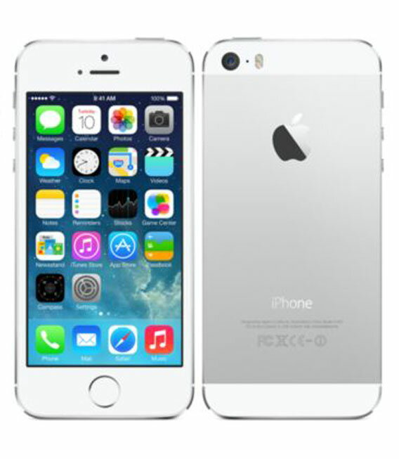 【中古】【安心保証】 SoftBank iPhone5s[32GB] シルバー