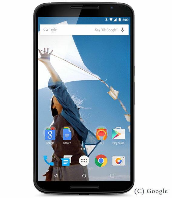 【中古】【安心保証】 Y!mobile Nexus6[32GB] クラウドホワイト