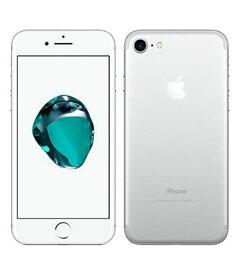 【中古】【安心保証】 UQモバイル iPhone7[128G] シルバー