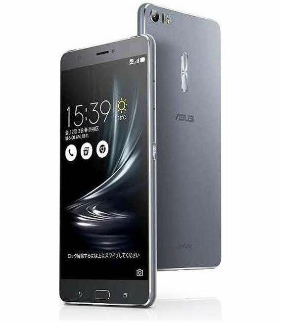 【中古】【安心保証】 SIMフリー ZenFone3Ultra[32GB] グレー