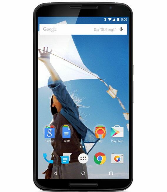 【中古】【安心保証】 SIMフリー Nexus6[32GB] クラウドホワイト