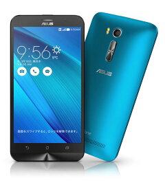 【中古】【安心保証】 SIMフリー ZenFoneGo[16G] ブルー