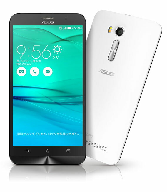 【中古】【安心保証】 SIMフリー ZenFoneGo[16G] ホワイト