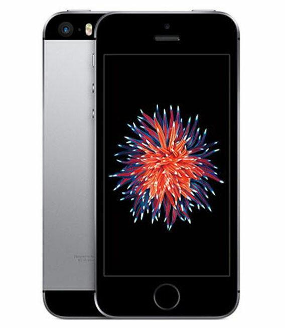 【中古】【安心保証】 docomo iPhoneSE[64GB] スペースグレイ