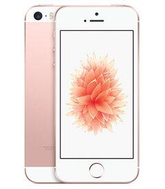 【中古】【安心保証】 au iPhoneSE[64G] ローズゴールド SIMロック解除済