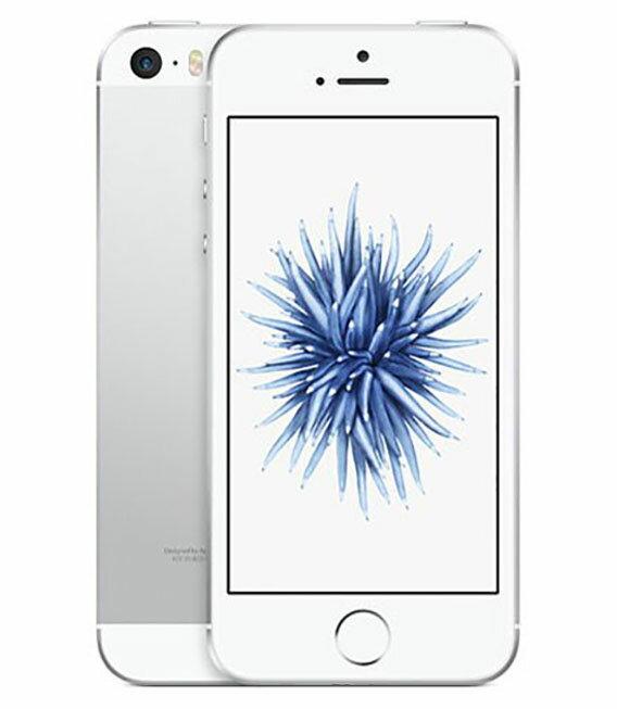 【中古】【安心保証】 SoftBank iPhoneSE[64GB] シルバー